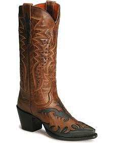 Dan Post Wynona Wingtip Western Boots