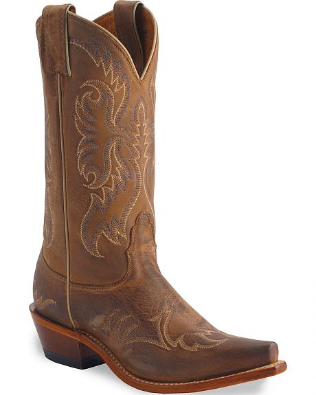 Nocona Women's Vintage Legacy Western Boots - Snip Toe