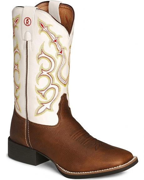 Tony Lama 3R Series Cowboy Boots - Square Toe