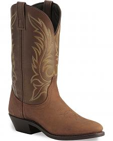 Laredo Tan Kadi Cowgirl Boots - Medium Toe