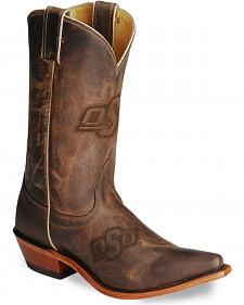 Nocona Women's Oklahoma State College Boots - Snip Toe