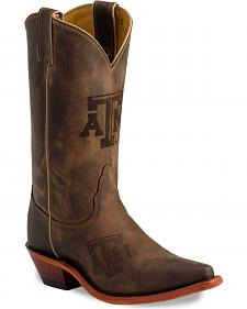 Nocona Texas A&M Aggies College Boots - Snip Toe