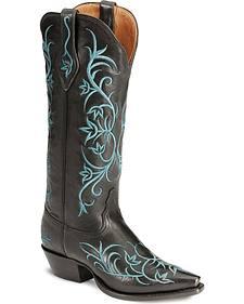 Tony Lama Signature Series Pitiado Cowgirl Boots - Snip Toe