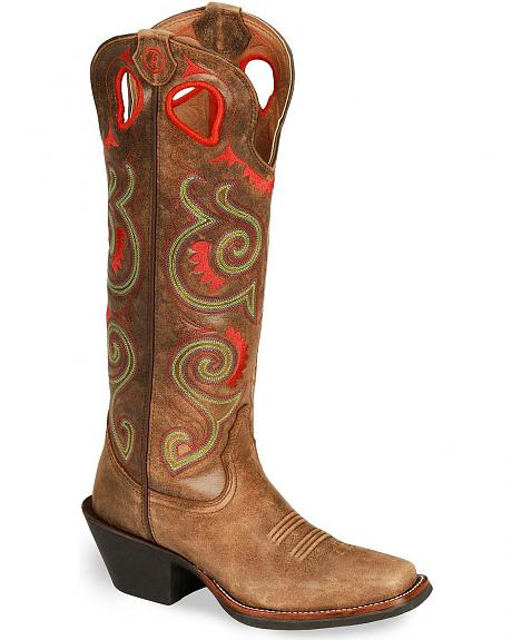 Tony Lama 3R Series Tumbleweed Buckaroo Boot - Square Toe