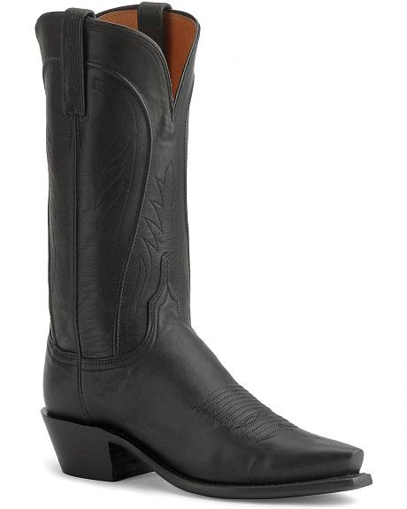 Lucchese Boots - Handcrafted 1883 Women's Ranch Hand Cowgirl Boots - Snip Toe