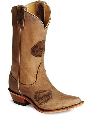 Nocona Florida Gators College Boots - Snip Toe