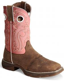 Durango Flirt Tan Cowgirl Boot - Square Toe
