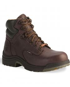 "Timberland Pro 6"" Titan Waterproof Boots - Safety Toe"