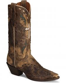 Dan Post Anthem Cross Vintage Cowgirl Boot - Snip
