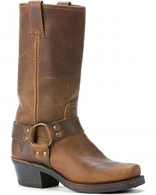Frye  Women's Harness Boots - Square Toe
