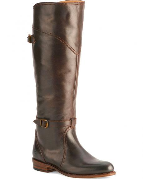 Frye Women's Harness Dorado Riding Boot - Medium Toe
