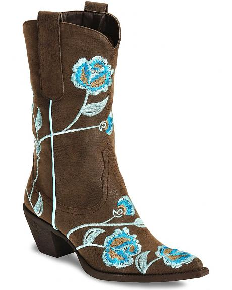 Roper Women's Rockstar Embroidered Boot