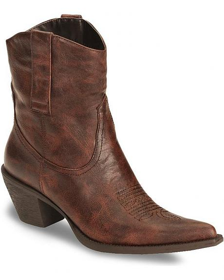 Roper Women's Rockstar Fashion Ankle Boot