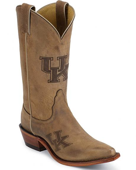 Nocona Kentucky Wildcats College Boots - Snip Toe