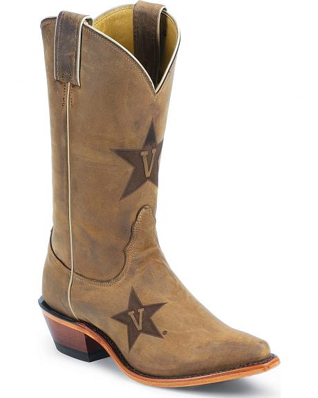 Nocona Vanderbilt Commodores College Boot - Snip