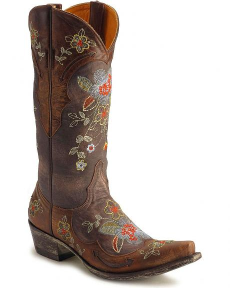Old Gringo Ultra Vintage Bonnie Western Cowgirl Boots - Snip Toe