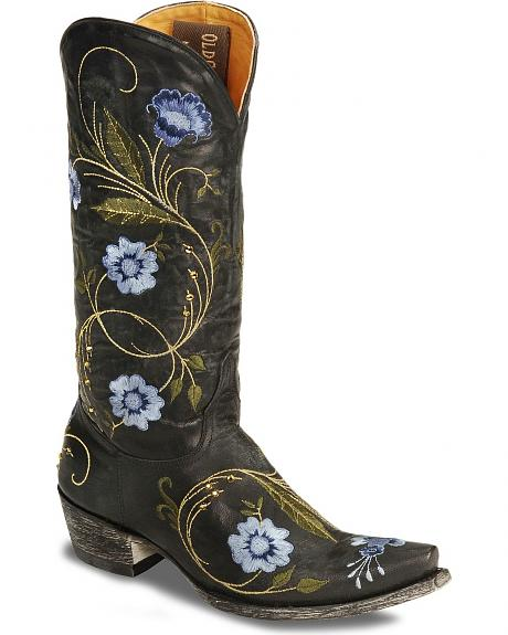 Old Gringo Women's Julie Floral Embroidered Cowgirl Boots