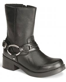 Harley Davidson Christa Women's Harness Boots