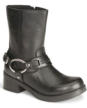 Harley Davidson Christa Womens Harness Boots