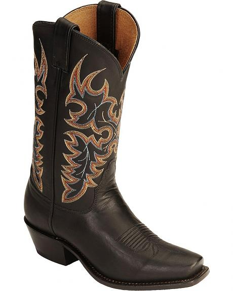 Nocona Legacy Fancy Stitched Cowgirl Boots