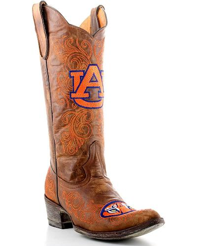 Auburn University Gameday Cowboy Boots Pointed Toe Western & Country AUB L001-1