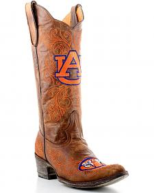 Gameday Auburn University Cowgirl Boots - Pointed Toe