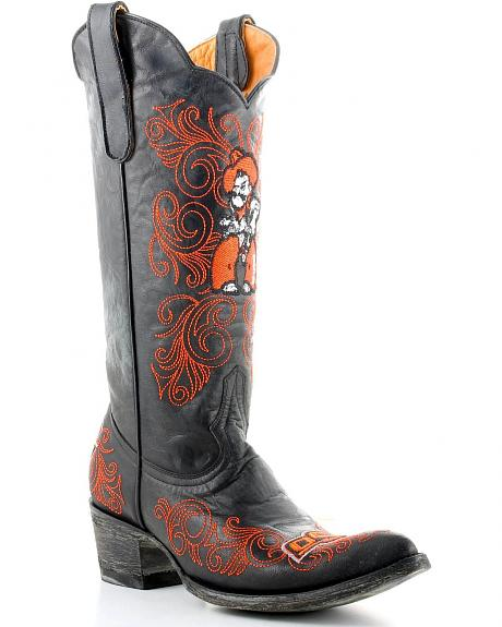 Oklahoma State University Gameday Cowboy Boots - Pointed Toe