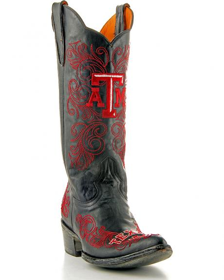 Texas A&M Gameday Cowgirl Boots - Pointed Toe