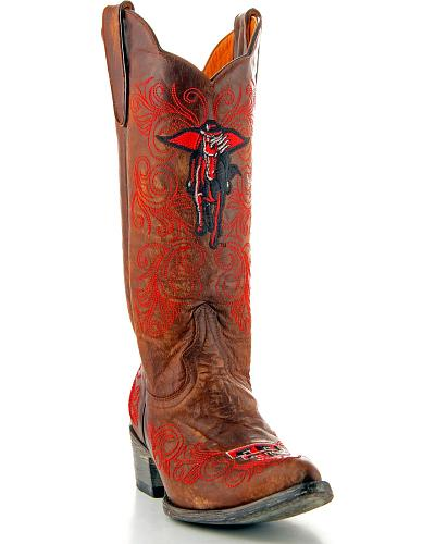 Texas Tech Gameday Cowboy Boots Pointed Toe Western & Country TT L010-2
