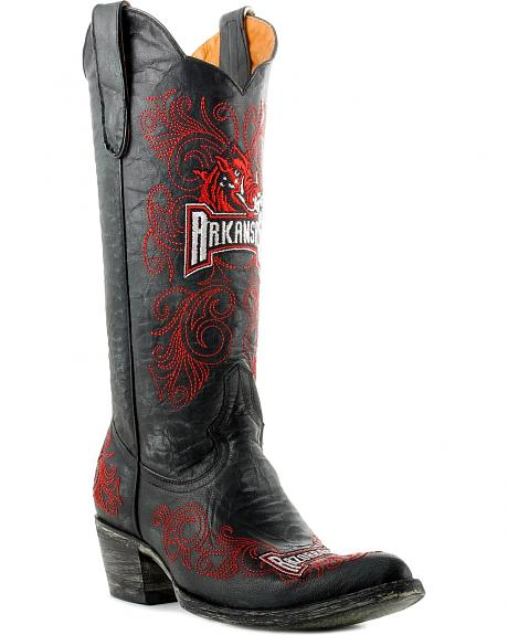 University of Arkansas Gameday Cowboy Boots - Pointed Toe
