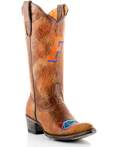 University of Florida Gameday Cowgirl Boots - Pointed Toe