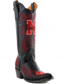 University of Nebraska Gameday Cowboy Boots - Pointed Toe