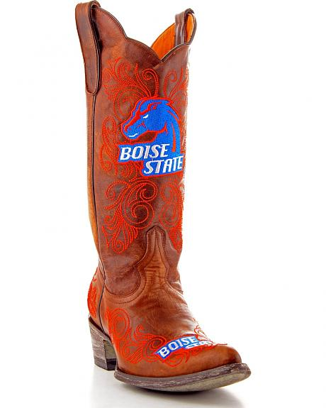 Boise State University Gameday Cowgirl Boots - Pointed Toe