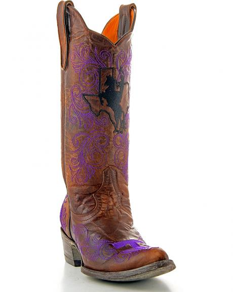 Tarleton State University Gameday Cowgirl Boots - Pointed Toe