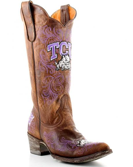 Texas Christian University Gameday Cowboy Boots - Pointed Toe