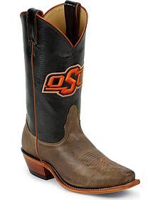 Nocona Women's Oklahoma State University College Boots - Snip Toe