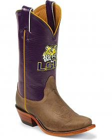 Nocona Women's Louisiana State University College Boots - Snip Toe