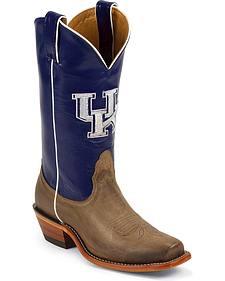 Nocona University of Kentucky College Cowgirl Boots - Snip Toe