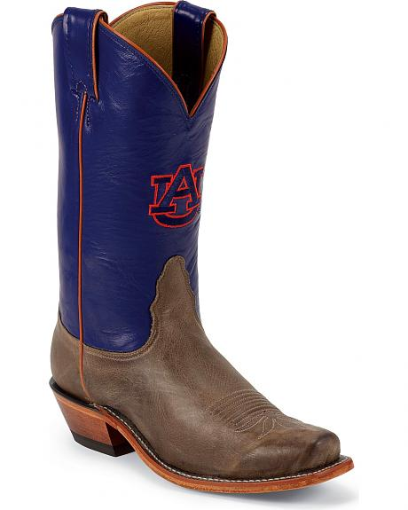 Nocona Women's Auburn University College Boots - Snip Toe