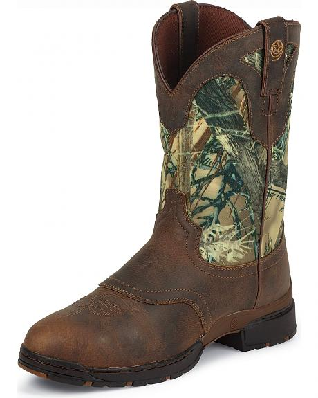 Justin George Strait 3.1 Waterproof Cowgirl Boots - Round Toe