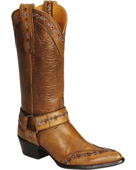 Old Gringo Hanna Gayla Embroidered Harness Boots - Pointed Toe