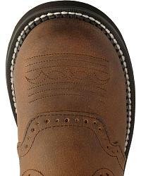 Justin Gypsy Workboots - Round Steel Toe at Sheplers