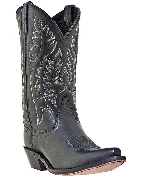 Laredo Classic Western Cowgirl Boots - Snip Toe