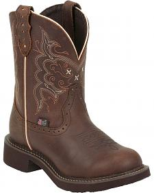 Justin Apache Gypsy Boots - Round Toe