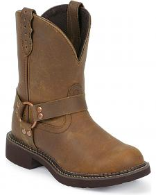 Justin Apache Harness Gypsy Boots - Round Toe