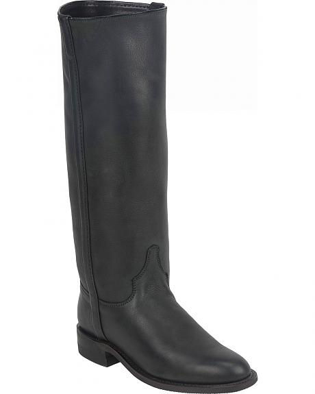 Justin Deertan Roper Riding Boots - Round Toe