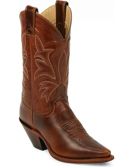 Justin Western Torino Cowgirl Boots - Snip Toe