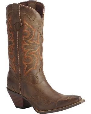 Durango Rock N Scroll Cowgirl Boots