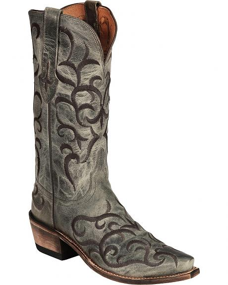 Lucchese Handcrafted 1883 Madras Mad Dog Goat Boots - Snip Toe