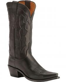 Lucchese Handcrafted 1883 Fiona Ranch Hand Cowgirl Boots - Snip Toe